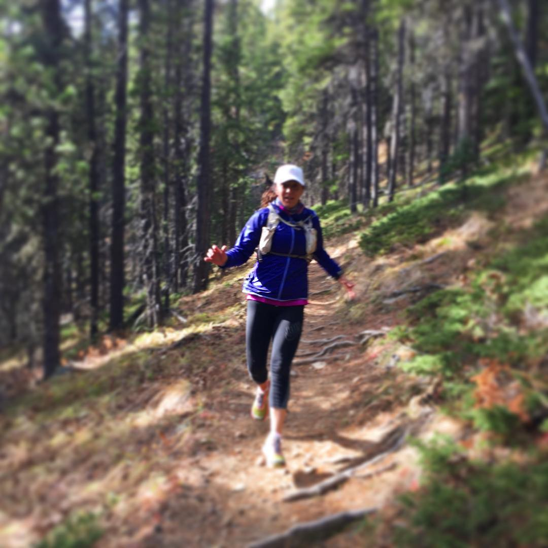 What the heck are my arms doing? #running #trails #training #endurance #strength #sweatpink #getoutside